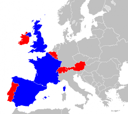 Euromillions map