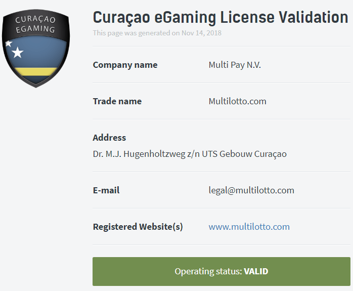 multilotto-license